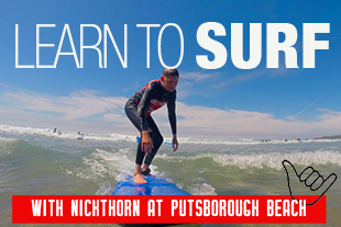 Surf Lessons with Nick Thorn at Putsborough Beach